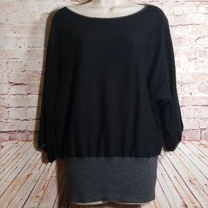 Style & Co.   Knit Tunic w/Fitted Hem EUC